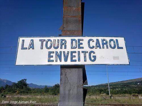 La Tour de Carol Enveitg.