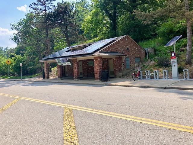 Fulton Avenue Public Comfort Station, Eden Park, Walnut Hills, Cincinnati, OH