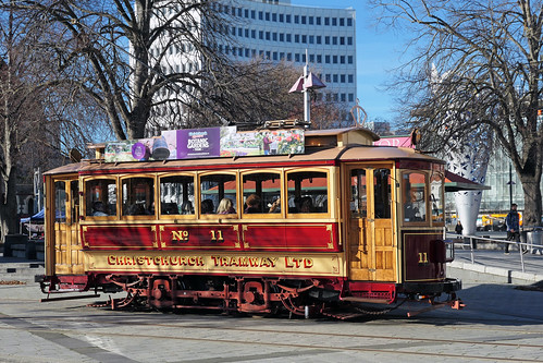 Trams Christchurch. NZ