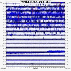 Steamboat Geyser eruption (2:20 AM, 19 June 2019) 1