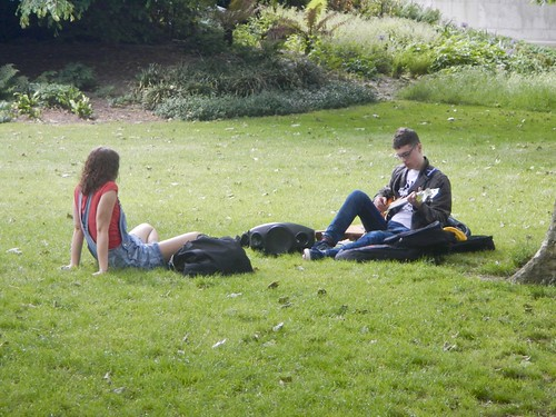 Romance in the Park