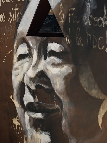 Deng Xiaoping 邓小平  - painted portrait - IMG_1265