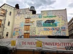 Mural - Binnengasthuisstraat Amsterdam