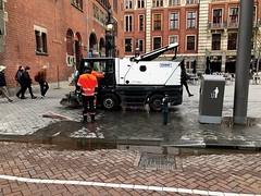 Men At Work - Beursplein Amsterdam