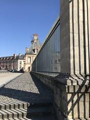 Fontainebleau - Les Grilles du Château (2019 03 31) - Photo of Thomery