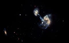 Merging Galaxies - Arp 194