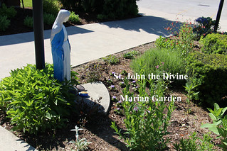 St John the Divine Marian Garden 2019