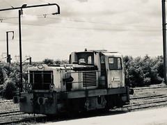 Locomotive « Lafarge ». - Photo of Marly-la-Ville