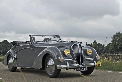 Delage D6 Cabriolet 1948 (7141)