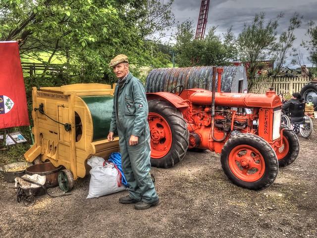 The Auld Farmer - Colour