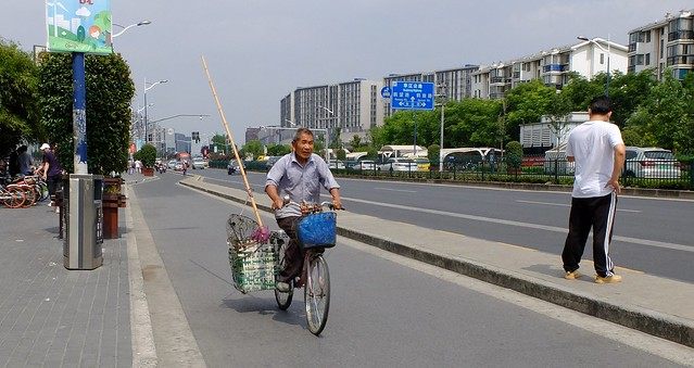 Shanghai - Going fishing