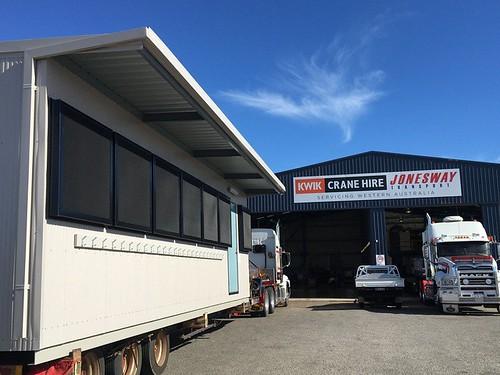CRANE HIRE, TRANSPORT AND TRAFFIC MANAGEMENT