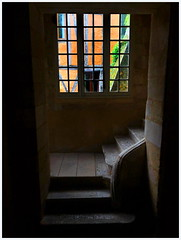 Stairwell at the Tobacco museum Bergerac