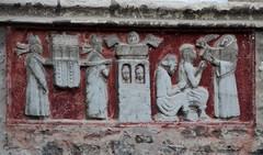 Dives-sur-Mer - Village Guillaume le Conquérant - Bas-relief - Photo of Grangues