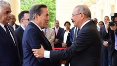 VIDEO:RD y Panamá renuevan lazos de amistad: Danilo Medina ofrece cálido recibimiento en Palacio Nacional a presidente electo, Laurentino Cortizo
