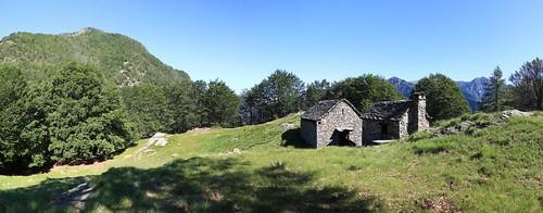Alpe Sassalp, Valle Maggia. Canton Ticino, Svizzera
