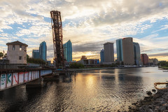 Sunrise at Cass Street Drawbridge
