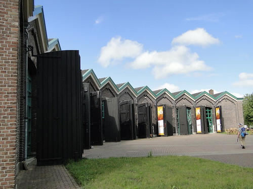 Former ringloc shed of Nieuweschans