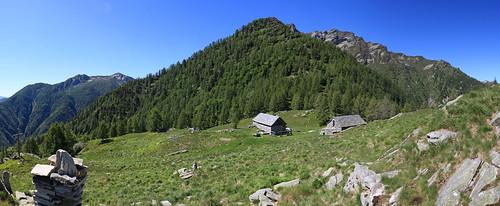 Alpe di Pii, Valle Maggia. Canton Ticino, Svizzera