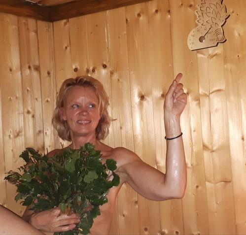 Juhannus sauna 😋
