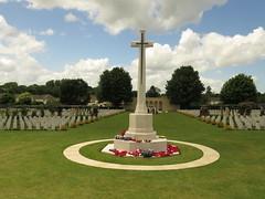 Ranville War Cemetery. - Photo of Amfreville