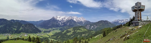 Bergbahn Pillersee panorama