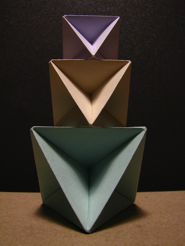 Stack of origami