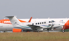 Beech B200 Super King Air, F-GHOC - Photo of Pont-à-Marcq