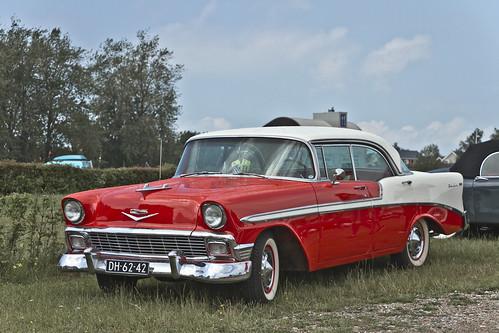 Chevrolet Bel Air Sedan 1956 (8574)