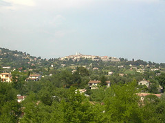 Last Glimpse of the Village - Photo of Villeneuve-Loubet