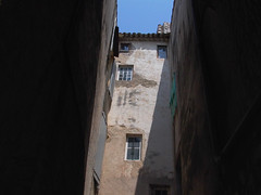 Old Buildings in Alley