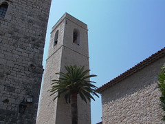 Church Tower - Photo of Villeneuve-Loubet