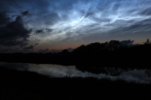 04 Leuchtende Nachtwolken - Soholmer Au