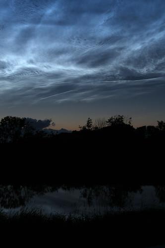 03 Leuchtende Nachtwolken - Soholmer Au