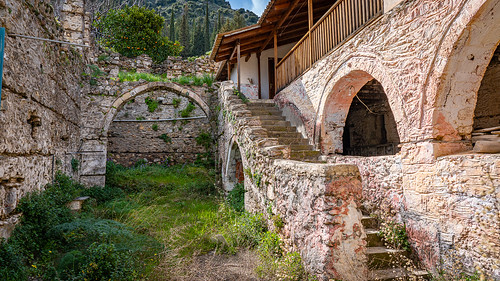Mystras or Mistras, Laconia, Peloponnese, Greece