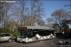 Heuliez Bus GX 337 Hybride - Transdev Île-de-France – Établissement de Montesson la Boucle / STIF (Syndicat des Transports d'Île-de-France) n°A205