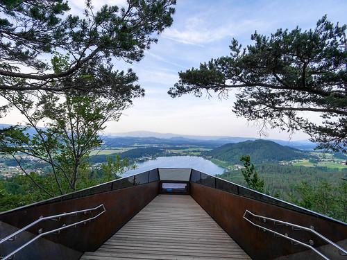 Aussichtsplattform am Kitzelberg - Klopeiner See