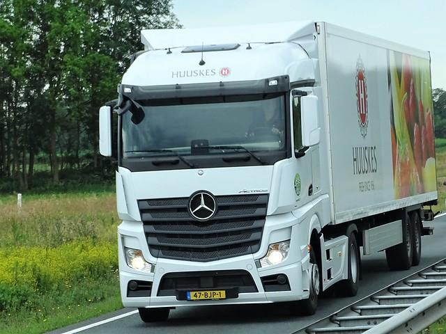 Mercedes-Benz Actros MP4 streamspace from Huuskes Enschede Holland.