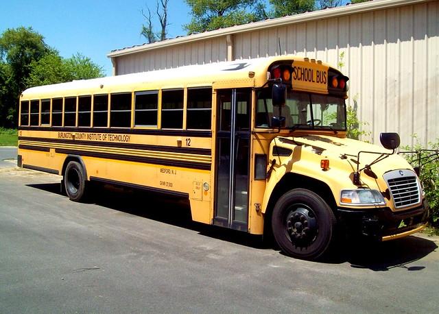 BCIT Blue Bird Vision Bus