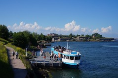 Barca para Suomenlinna