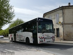 IVECO BUS Crossway Pop - 4488 - Citram Aquitaine - Photo of Branne