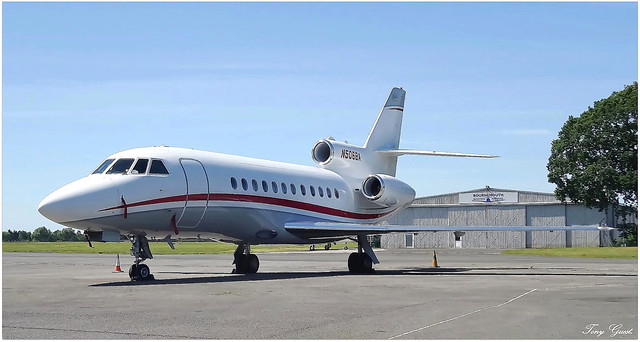 N506BA | Dassault Falcon 900B.