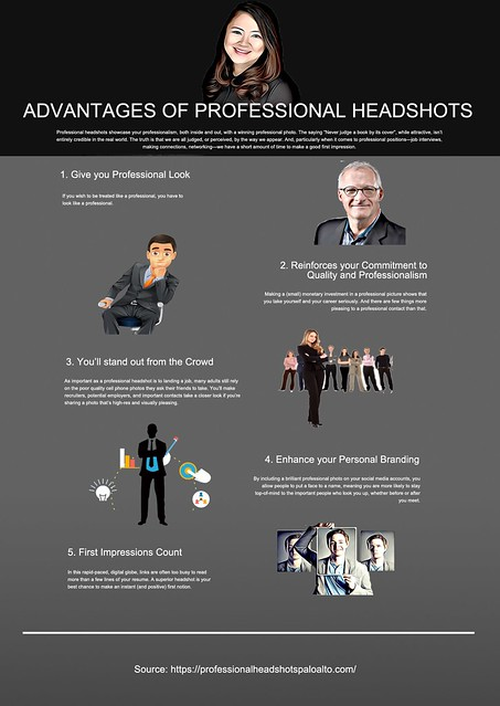 Advantages of Professional Headshots
