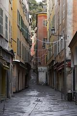 Rue de la Préfecture, Vieux Nice, Côte d'Azur, France - Photo of Nice