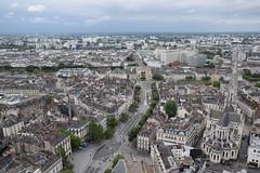 Nantes aerial - view from Tour Bretagne, Le Nid - Photo of Nantes