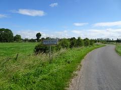 Mazinghem panneau d'entrée l'Oblois