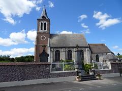Bourecq Église Saint-Riquier - Photo of Camblain-Châtelain