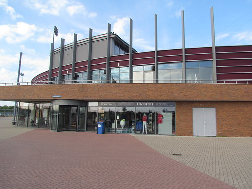 Entrance at Sportpark Pioniers -- Hoofddorp, The Netherlands, May 23, 2019