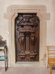 Porte de l'église des Jésuites - Photo of Fessenheim-le-Bas
