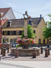 La fontaine aux lions - Photo of Fessenheim-le-Bas